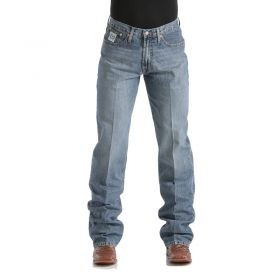 Cinch Men's Light Wash White Label Relaxed Fit Jeans