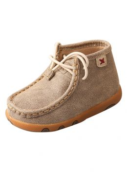 Twisted X Infant Driving Mocs - Dusty Tan