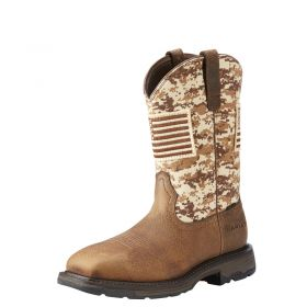 Ariat Patriot Workhog Steel Toe Work Boots