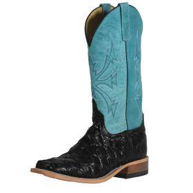 Anderson Bean Women's Black Big Bass Boots - Tener's Exclusive