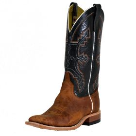 Anderson Bean Saddle Elk Boots - Green Top