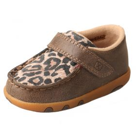 Twisted X Infant Leopard Driving Moccasins