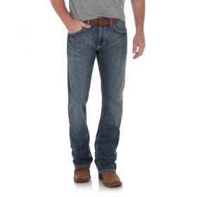Wrangler 20X Style 42 Slim Fit Vintage Bootcut Jeans - Mitchell Wash