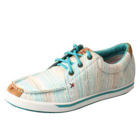 Twisted X Women's Hooey Blue/Multi Striped Shoes