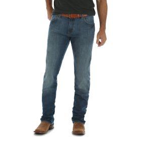 Men's Wrangler Retro Red River Slim Fit Straight Leg Jeans