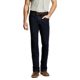 Ariat M1 Vintage Stretch Stackable Straight Leg Jeans - Abraded Rinse