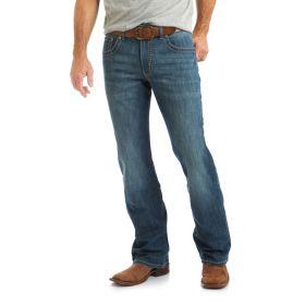 Men's Wrangler Rock 47 Slim Fit Boot Cut Jeans - Bridge