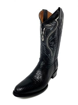 Ferrini USA Cowboy Black Lizard R Toe