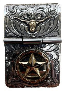 Money Clip - Oversized Star-Longhorn