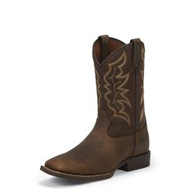 Justin Chet Pebble Brown Boots