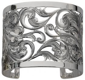 Bracelet -Sterling Filigree Cuff