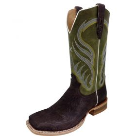 Twisted X Chocolate Shoulder Rancher Boots