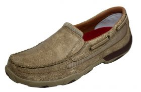 Twisted X Women's Slip-On Driving Moccasin WDMS002
