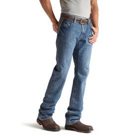 Ariat Work FR Men's Ariat M4 Flint Low Rise Boot Cut Flame Resistant Jean