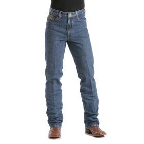 Cinch Men's Dark Stonewash Bronze Label Slim Fit Jeans