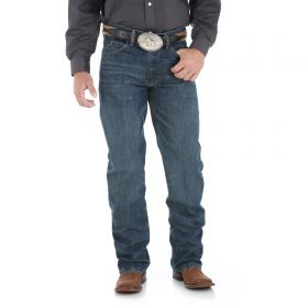 Wrangler Mens' 20X 01 Competition Relaxed Fit Jeans