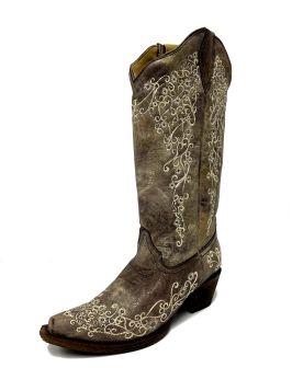 Corral Ladies Snip Toe Boot A1094