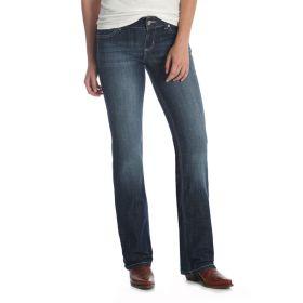 Wrangler Women's Bootcut Jeans - DO Wash