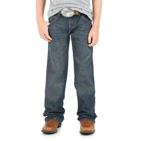 Wrangler Boys' Relaxed Retro Boot Jeans JRT20NS