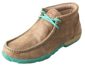 Twisted X Ladies Turquoise Driving Mocs WDM0020