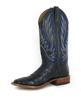 Horse Power by Anderson Bean Mens Black Caiman Boots
